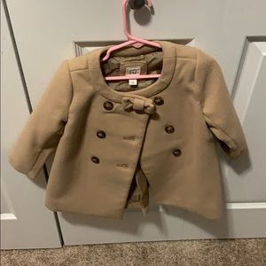 Baby Gap dress coat 18-24m